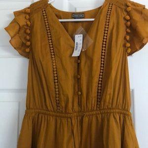 J. Crew Dresses - J.Crew Point Sur Flutter Dress size 2